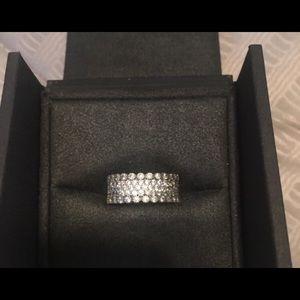 Pandora Lavish Sparkle Ring Pristine Condition